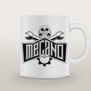 "Mug porcelaine Mécano Rock ""Highway To Hell"""