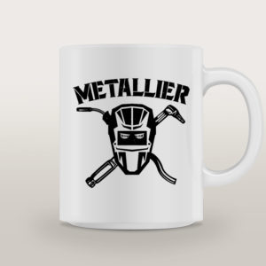 "Mug porcelaine Métallier Basique ""Star Trooper"""
