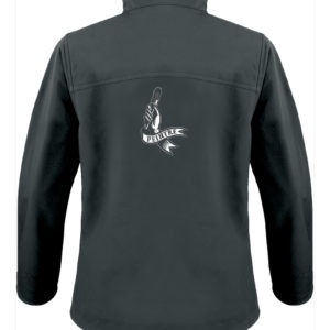 Veste softshell noir homme Peintre Tattoo Painter Man