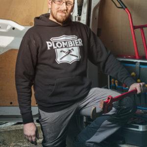 Sweat Shirt Plombier Basique Pipeline